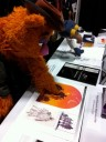 Fozzie and Gonzo check out Ralph McQuarrie artwork
