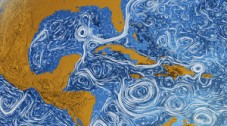 "Better Than A Van Gogh: NASA Visualizes All The World's Ocean Currents INFOGRAPHIC OF THE DAY OUR OCEANS ARE EVERY BIT AS TURBULENT AS ""STARRY NIGHT."""