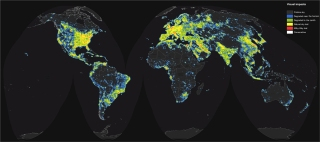 Credit: The New World Atlas of Artificial Sky Brightness/ Falchi et al., Sci. Adv.