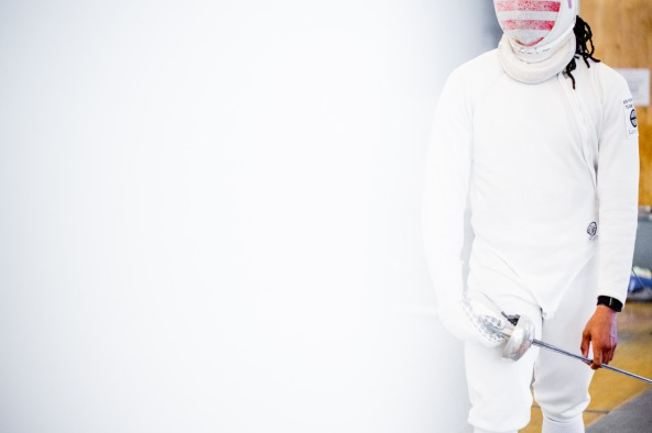 Fencer Jason Pryor is ranked number one in the U.S. in men's epee and will compete at the Rio Olympics in August.