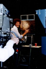 Ross filmed more than 400 episodes of The Joy of Painting. He actually painted three different versions of each work for every show — but viewers only saw the one on screen.